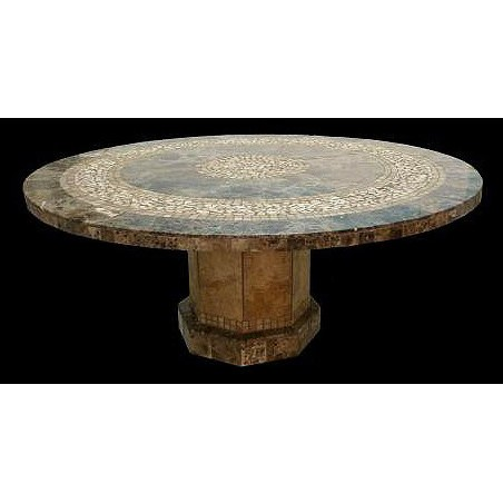 """12"""" Round x 1/2"""" Thick Clear Glass Top"""