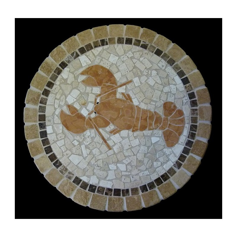Art Deco Mosaic Table Top