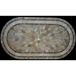 Vineyard Mosaic Table Top