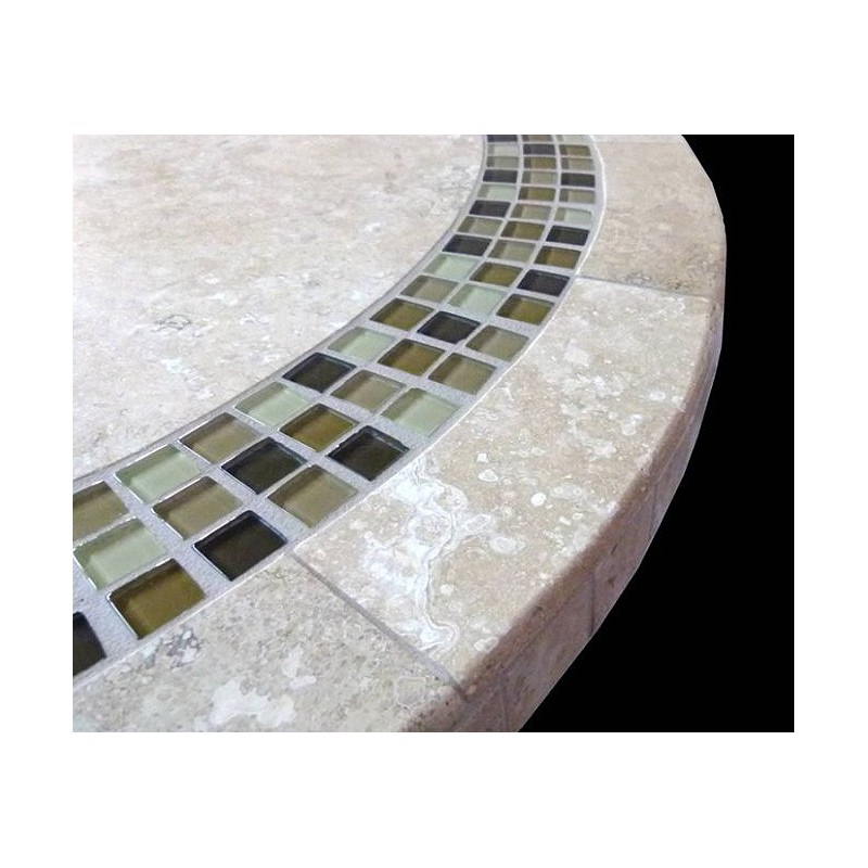 Alberta Mosaic Table Top