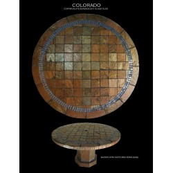 Colorado Style One Mosaic Table Top