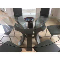 Water Drop Glass Table Tops