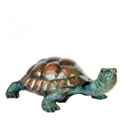 Bronze Small Turtle Fountain Sculpture