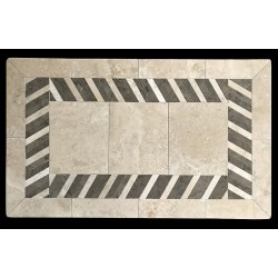 Slant Mosaic Table Top