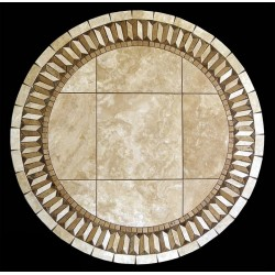 Illusion Mosaic Table Top - Round