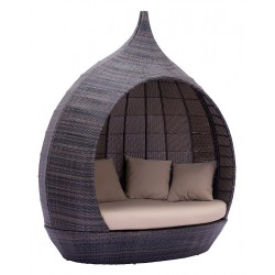 Martinique Outside Day Bed Brown