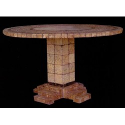 Athens Mosaic Bar Height Table Base