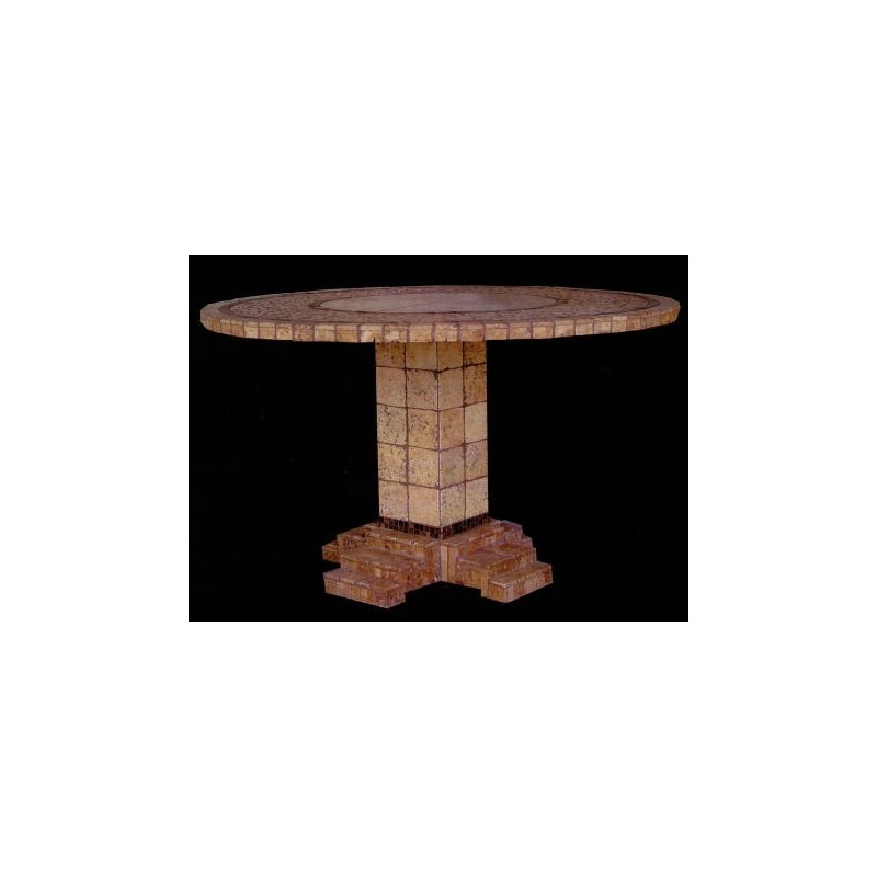 Athens Mosaic Bar Height Table Base