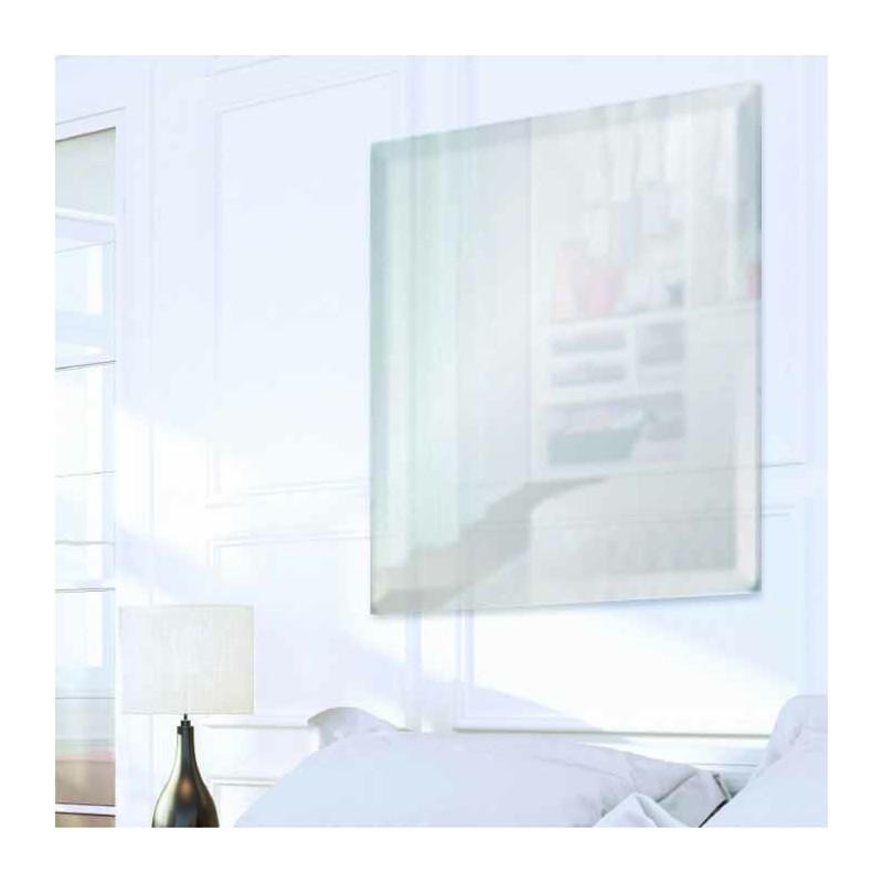 """Square 18"""" x 18"""" Frameless Beveled Mirror"""