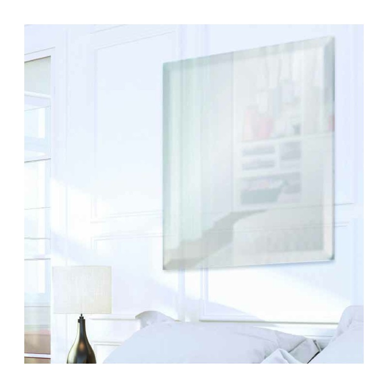 "Square 18"" x 18"" Frameless Beveled Mirror"