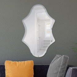 "Versailes 20"" x 30"" Frameless Beveled Mirror"