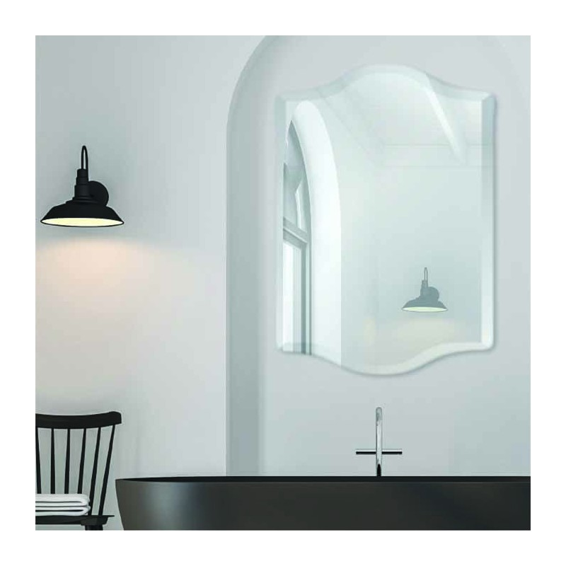 "Prestige 24"" x 36"" Frameless Beveled Mirror"