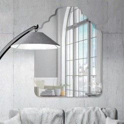 "Resort 30"" x 40"" Frameless Beveled Mirror"