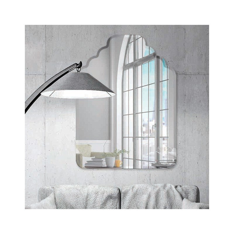 """Resort 30"""" x 40"""" Frameless Beveled Mirror"""