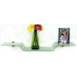 "Bent Glass Eagle Shelf Kit 8"" x 31.5"""