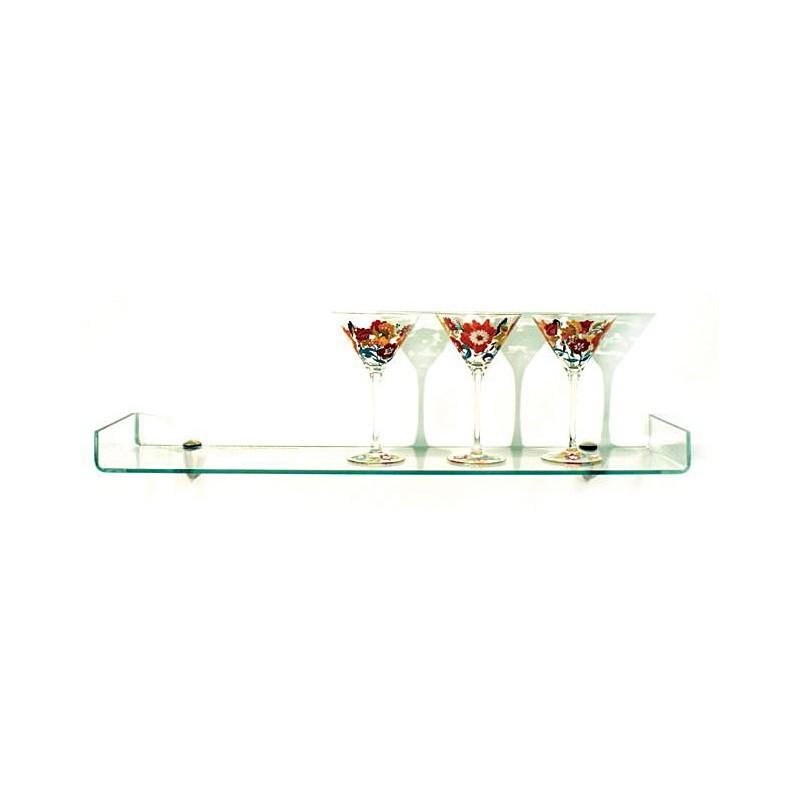 """Osprey Bent Glass Shelf Kit 6"""" x 18"""""""
