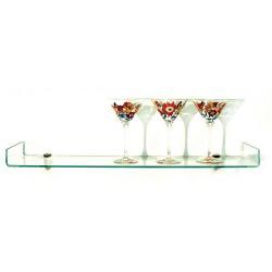 """Osprey Bent Glass Shelf Kit 8"""" x 31 1/2"""""""""""