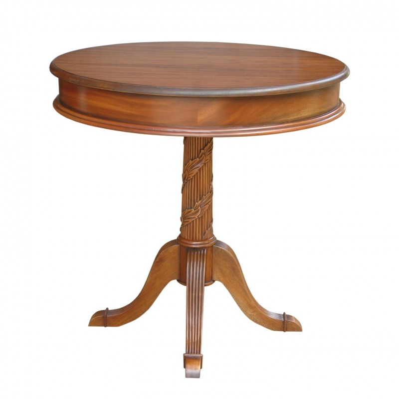 Victorian Pedestal, Side, Entryway Table
