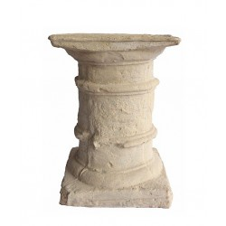Column Limestone Dining Table Base