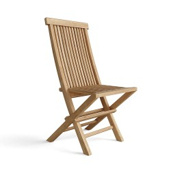Teak Classic Folding Chair (sell & priced per 2 chairs only)