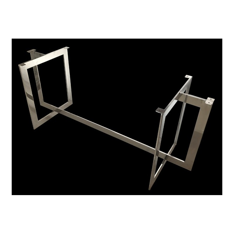 Milano Stainless Steel Dining Table Base (with Color Options)