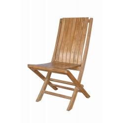Teak Comfort Folding Chair (sell & priced per 2 chairs only)
