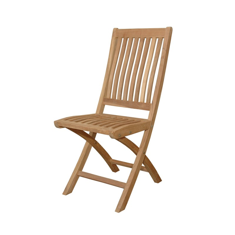 Teak Tropico Folding Chair (sell & priced per 2 chairs only)