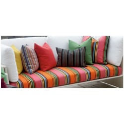 Cushions for Teak Two Seater Benches