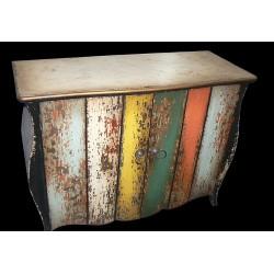 Artisan Custom 2-Door Distressed Cabinet