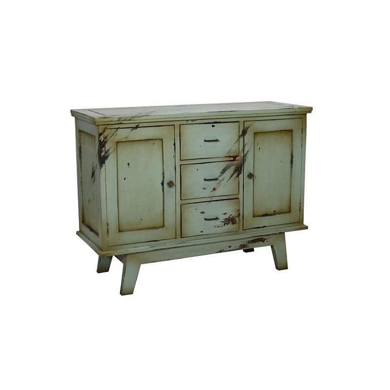 Artisan Custom Distressed Finish Cabinet
