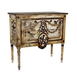 Artisan Custom Distressed Antique Finish 2-Drawer Chest