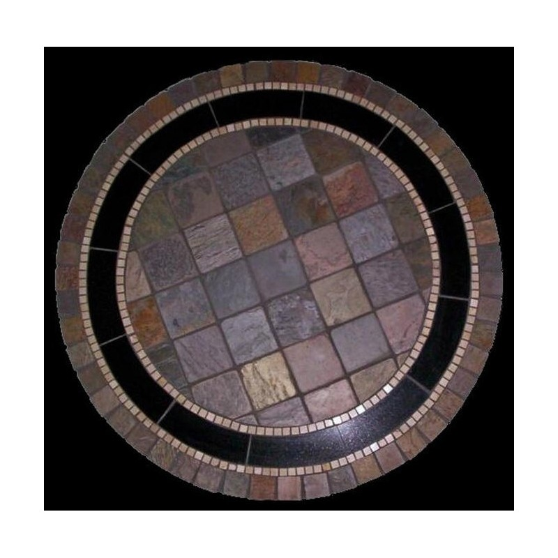 Rustic Mosaic Table Top