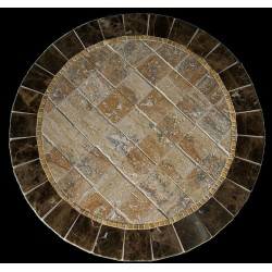 Barcelona Stone Tile Mosaic Table Top