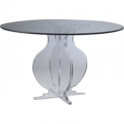 Athens Acrylic Dining Table (with or without top)