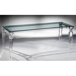 New York Thick Acrylic Dining Table