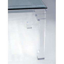 Orient Thick Acrylic Dining Table