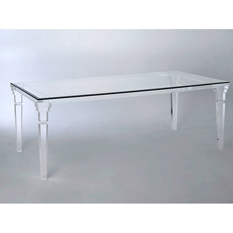 Paris Thick Acrylic Dining Table