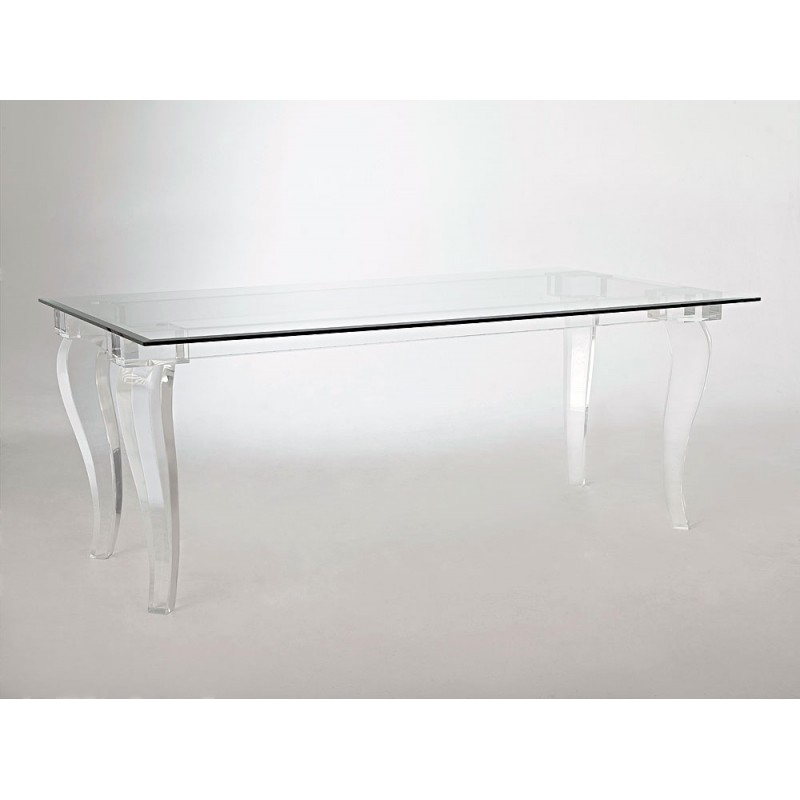 Italy Thick Acrylic Dining Table