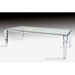 Venice Acrylic Dining Table
