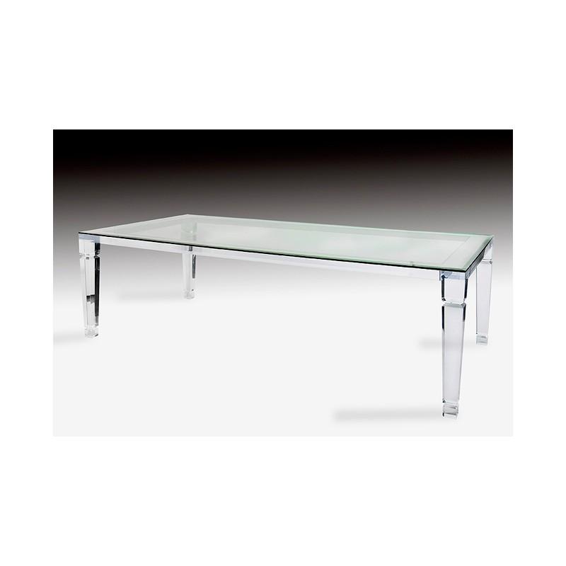 Venice Acrylic Dining Table