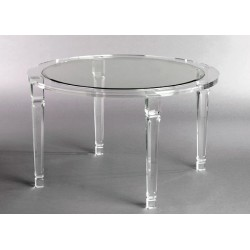 Richard Round Acrylic Dining Table