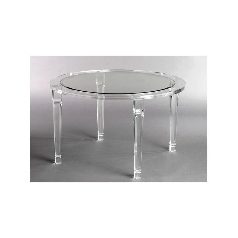 Richard Round Acrylic Dining Table