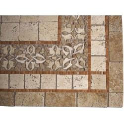 Geneva Mosaic Table Top - Close Up