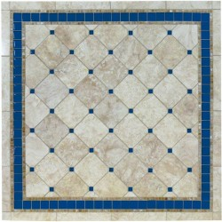 Azul Mosaic Table Top - Shown in Square Shape