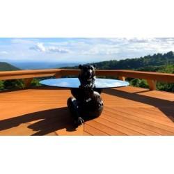 Bronze Bear Coffee Table Base