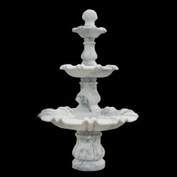Marble Traditional Three Tier Fountain