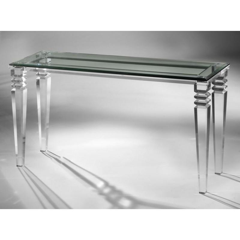 New York Acrylic Console Table