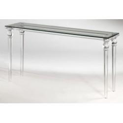 Lynda Acrylic Console Table