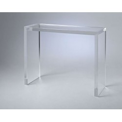 Matthew Acrylic Console Table