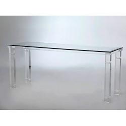Angelina Acrylic Console Table